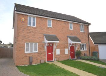 Thumbnail 2 bed semi-detached house for sale in Tiller Close, Yapton, Arundel, West Sussex
