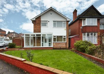 Thumbnail 3 bed detached house for sale in Glencroft Road, Solihull