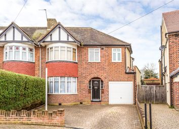 Thumbnail 5 bed semi-detached house to rent in Conway Gardens, Enfield