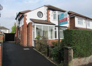 Thumbnail 3 bed detached house to rent in Silverdale Avenue, Prestwich, Manchester