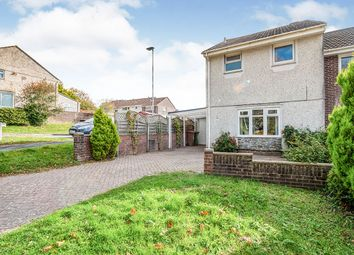Thumbnail 2 bed end terrace house for sale in Rogate Drive, Plymouth, Devon