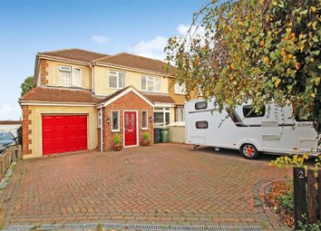 Thumbnail 4 bed semi-detached house for sale in Kingley Close, Wickford, Essex