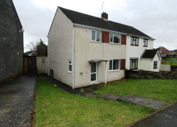 Thumbnail 3 bed semi-detached house for sale in Bryn Golau, Bridgend