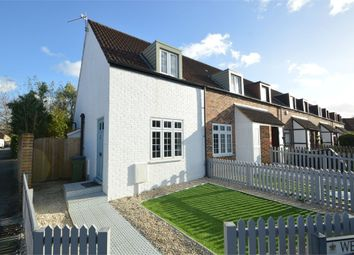 Thumbnail 2 bed end terrace house for sale in West Palace Gardens, Weybridge, Surrey
