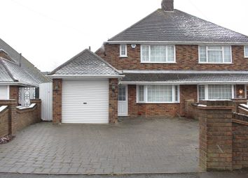 Thumbnail 2 bed semi-detached house to rent in Oakley Road, Luton
