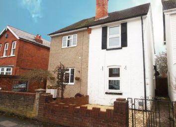 Thumbnail 2 bed semi-detached house to rent in Station Road, West Byfleet