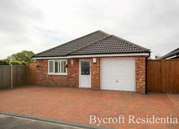 Thumbnail 3 bed detached bungalow for sale in Bridge Meadow, Hemsby, Great Yarmouth