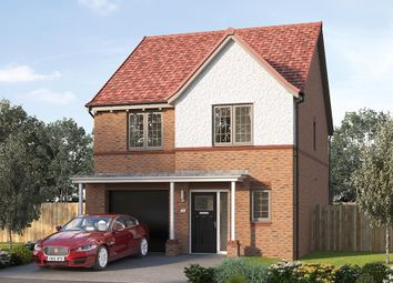 """Thumbnail 4 bed detached house for sale in """"The Holbury"""" at Steeplechase Way, Market Harborough"""