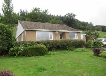 Thumbnail 3 bed detached bungalow to rent in Meadow View, Oakley Park, Llandinam, Powys
