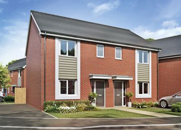 Thumbnail 3 bed semi-detached house for sale in Acacia Lane, Branston, Burton-On-Trent