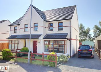 Thumbnail 3 bed semi-detached house for sale in Longfield Way, Ballyhalbert