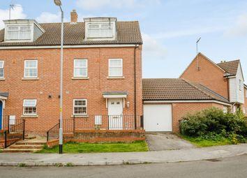 Thumbnail 4 bed semi-detached house for sale in John Davis Way, King's Lynn, Norfolk