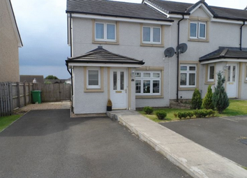 Thumbnail 3 bedroom end terrace house to rent in Lochty Drive, Kinglassie