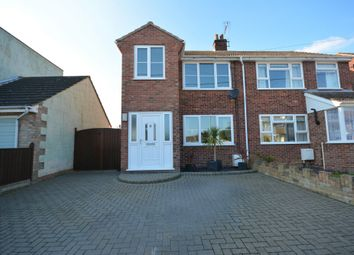 Thumbnail 3 bed semi-detached house for sale in Gilpin Road, Lowestoft