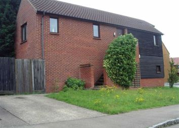 Thumbnail 2 bedroom maisonette to rent in Lowndes Grove, Shenley Church End, Milton Keynes
