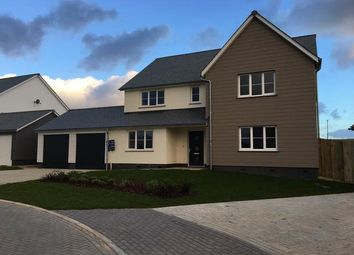 Thumbnail 4 bed detached house for sale in Merewood Close, Prixford, Barnstaple