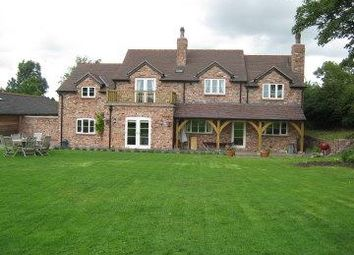 Thumbnail 5 bed detached house to rent in Tattenhall, Tarporley