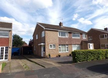 Thumbnail 3 bed semi-detached house for sale in St Paulinus Drive, Northallerton