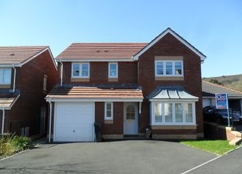 Thumbnail 4 bedroom detached house for sale in Parc Gilbertson, Gelligron, Pontardawe.