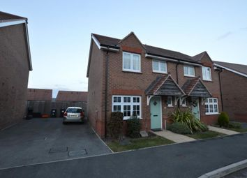 Thumbnail 3 bed semi-detached house for sale in Meadow Rise, Newton Abbot, Devon
