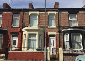 Thumbnail 3 bed terraced house to rent in Fairfield Road, Tranmere, Wirral