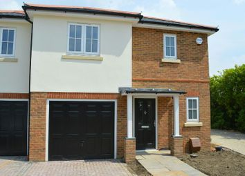 Thumbnail 3 bed semi-detached house for sale in Bakersfield Close, Chessington Road, West Ewell
