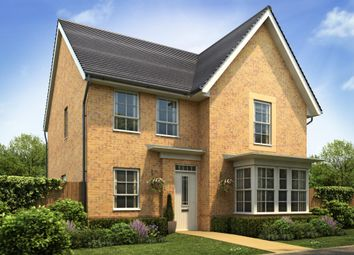 "Thumbnail 4 bed detached house for sale in ""Cambridge"" at Huntingdon Road, Thrapston, Kettering"