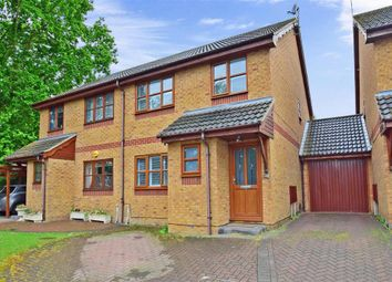 Thumbnail 3 bed semi-detached house for sale in Falstones, Basildon, Essex