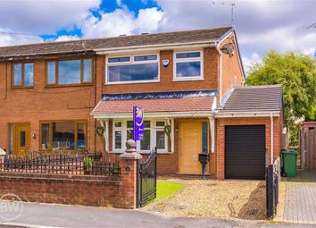 Thumbnail 3 bed end terrace house for sale in Brecon Drive, Hindley Green, Wigan, Lancashire