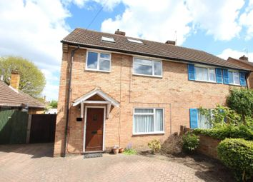 Thumbnail 5 bed semi-detached house to rent in Hillside Close, Knaphill, Woking