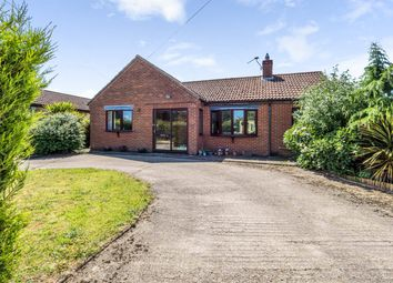 Thumbnail 3 bed detached bungalow for sale in Mill Road, Melton Constable, Norfolk