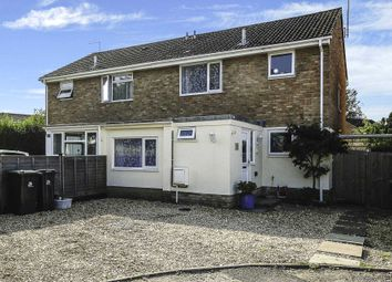 Thumbnail 3 bed semi-detached house for sale in Medbourne Close, Blandford Forum