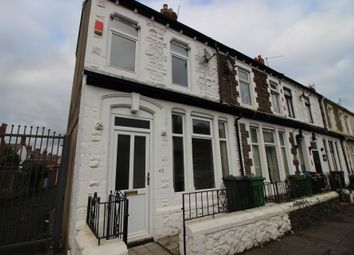 Thumbnail 2 bed end terrace house to rent in Stockland Street, Cardiff