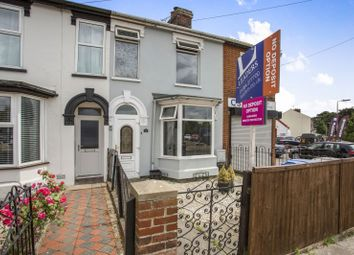 Thumbnail 3 bed terraced house to rent in Derby Road, Ipswich