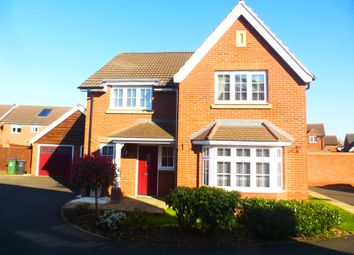 Thumbnail 4 bed detached house for sale in House Meadow, Tipton