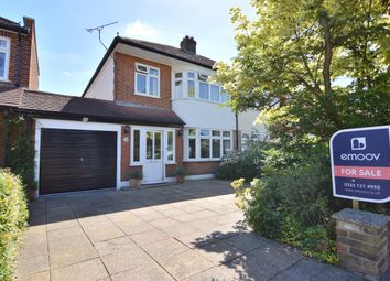 Thumbnail 3 bed semi-detached house for sale in The Grove, Upminster, Essex