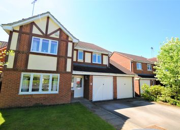 Thumbnail 5 bed detached house for sale in Swallow Close, Uttoxeter