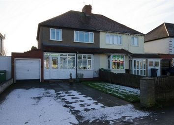 Thumbnail 3 bed semi-detached house for sale in Blackhalve Lane, Wednesfield, Wolverhampton, West Midlands