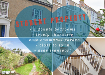 Thumbnail 3 bed shared accommodation to rent in Broad Street, Penryn