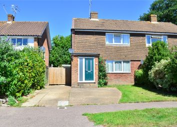 Thumbnail 3 bed semi-detached house for sale in Copthorne, West Sussex