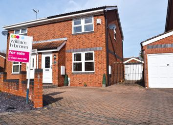 Thumbnail 3 bedroom semi-detached house for sale in Rosemary Way, Beverley Parklands, Beverley