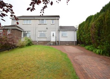 Thumbnail 3 bed semi-detached house for sale in Watermill Avenue, Lenzie, Kirkintilloch, Glasgow