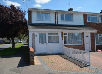 Thumbnail 2 bedroom semi-detached house to rent in Blenheim Avenue, Stony Stratford, Milton Keynes