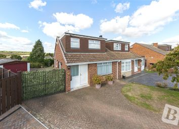 Thumbnail 4 bed semi-detached house for sale in Little Croft, Istead Rise, Gravesend, Kent
