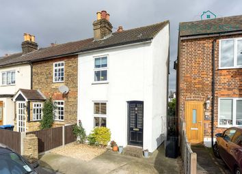 Thumbnail 2 bed end terrace house for sale in Laburnum Road, Chertsey