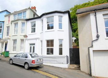 Thumbnail 3 bed end terrace house for sale in The Crescent, Sandgate