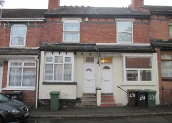 Thumbnail 3 bed terraced house to rent in Merridale Street West, Wolverhampton