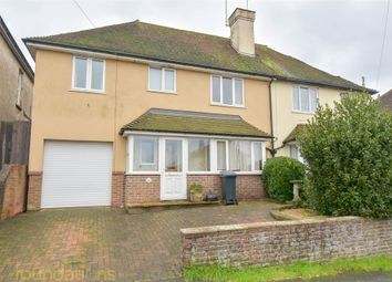 Thumbnail 4 bed semi-detached house for sale in Sedgewick Road, Bexhill-On-Sea, East Sussex