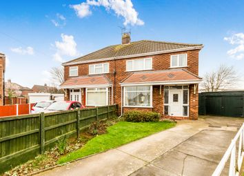 Thumbnail 3 bed semi-detached house for sale in Glaisdale Road, Scunthorpe