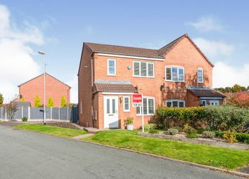 Thumbnail 3 bed semi-detached house for sale in The Ridings, Cannock